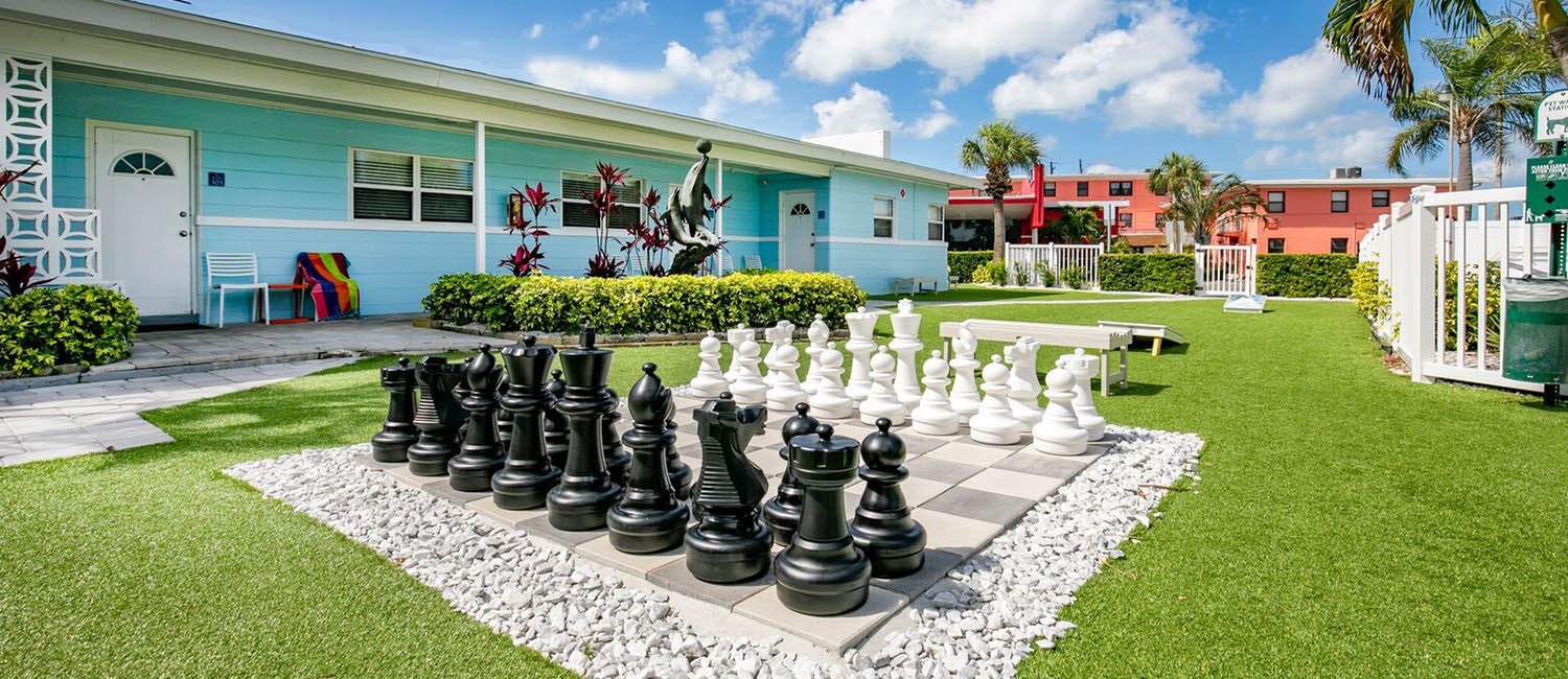 ENJOY THE ON-SITE AMENITIES AT OUR ST. PETE BEACH VILLAS