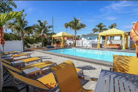 Welcome To Villa At St Pete Beach - Pool Area