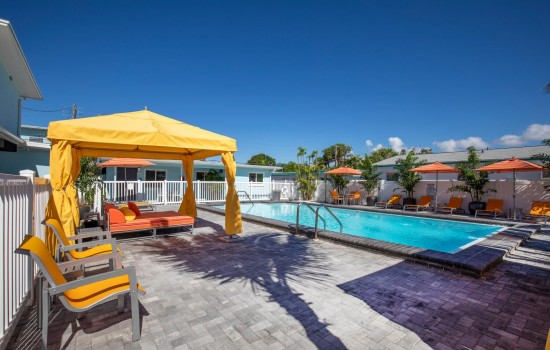 Welcome To Villa At St Pete Beach - Poolside Seating